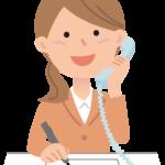 営業電話をかけるスタッフ